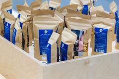 Handgemachte Popcorn mit Brezel und weißer Schokolade von der Berliner Popkornditorei Knalle