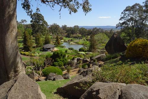 Japanese garden in  Cowra , NSW, Australia