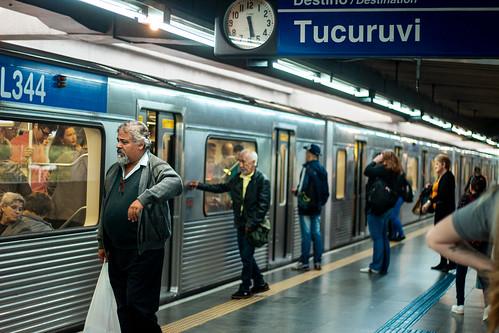 Embarque (Estação Portuguesa-Tietê)