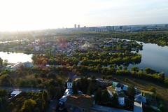Aerial view of Plumbuita area in Bucharest, Romania