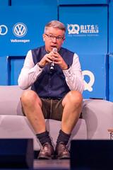Frank Thelen, Investor und Serial Entrepreneur alarmiert auf der Bits & Pretzels