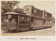 Steam tram, Sydney, New South Wales , 1879-189