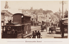 Tram, Parramatta Road, Sydney, New South Wales , 1879-189