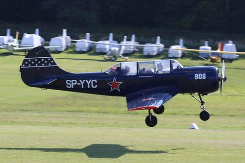 SP-YYC Yakovlev 52 on 13 September 2019 Hahnweide