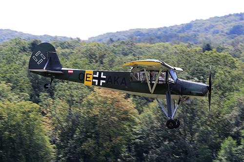 OK-AKA Fieseler Fi.156C-3 Storch on 13 September 2019 Hahnweide