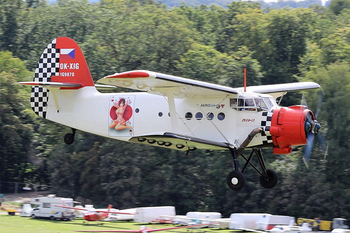 OK-XIG Antonov AN2T on 13 September 2019 Hahnweide