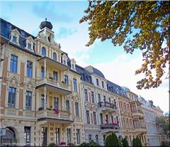 Görlitz/Germany 2019 - Gründerzeitviertel (Wilhelminian architecture)