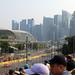 Singapore Grand Prix 2019 - porsche and skyline