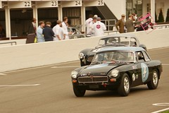 1963 MG B and a 1963 AC Ace Ford