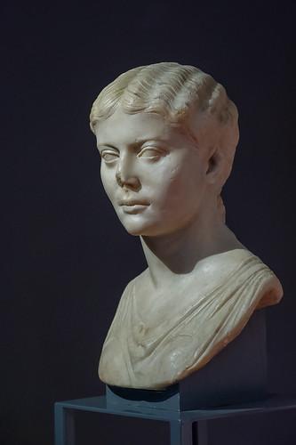 portrait d'une princesse romaine (copie), musée romain, Avenches