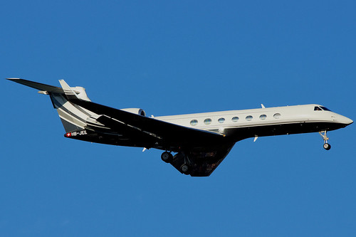 HB-JEE (cn 5025)Gulfstream G550 Aviation 604 AG