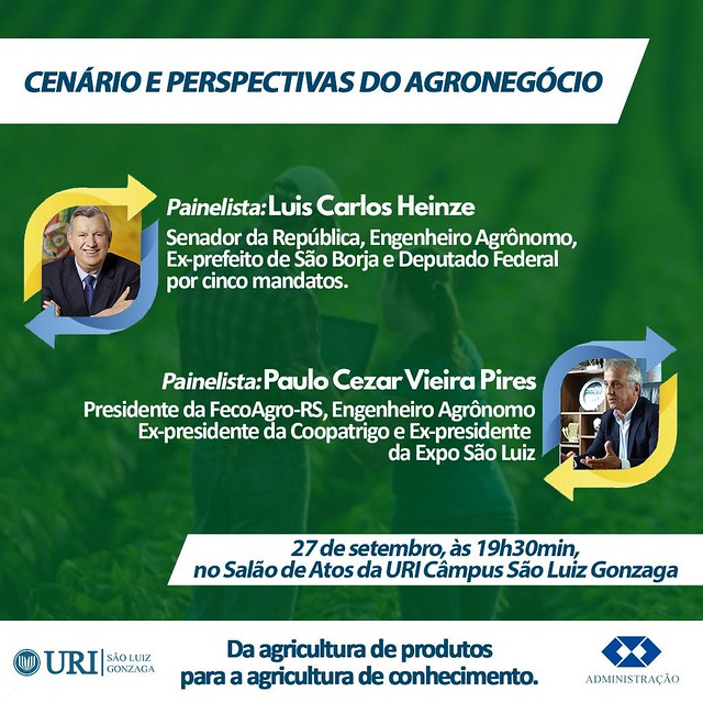 27/09/2019 Palestra URI São Luiz Gonzaga