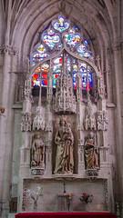 Autel de la vierge à l'enfant - Saint-Florentin