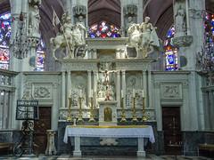 Maître-autel de cavaliers - Saint-Florentin