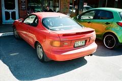 1990 Toyota Celica SX rear