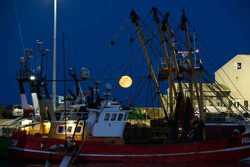 moon over kilmore quay - 2