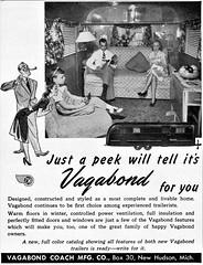 1949 Vagabond Trailer Interior