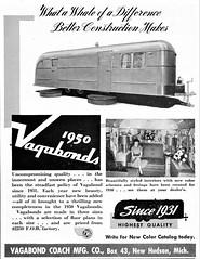 1950 Vagabond Trailers