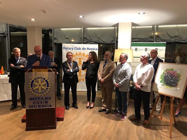 Presentación Vino Solidario Rotary Huesca