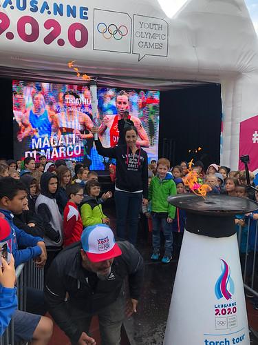 Lausanne 2020 - Torch Tour Ollon