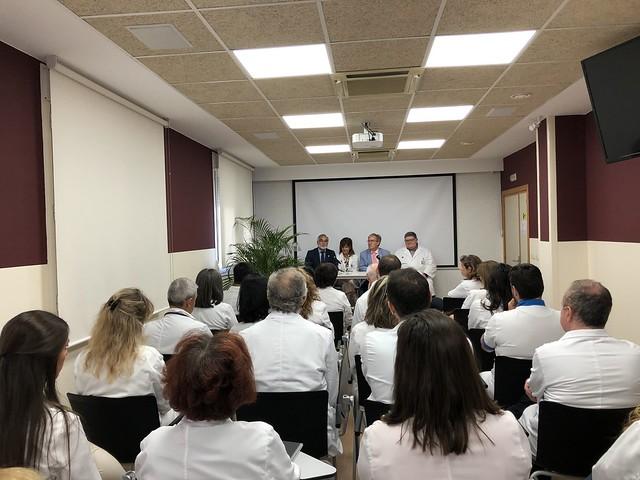 Visita al Hospital San Juan de Dios