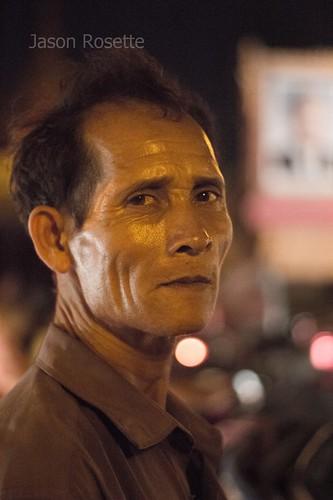 Wine Dinker at Night, Phnom Penh