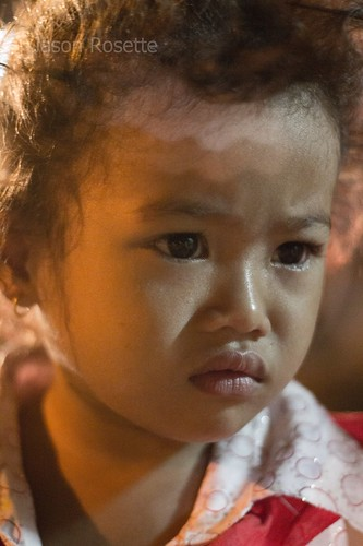 Cambodian Girl is Upset at Her Mother