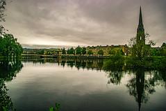 Perth City Centre Over The River