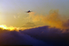 Take off clouds