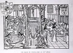 Une Salle de L'Hotel-Dieu au XVI Siècle