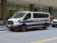 MTA Police Ford Transit