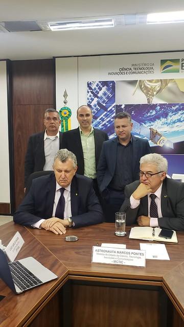 01/10/2019 Audiência Ministério de Ciências e Tecnologia