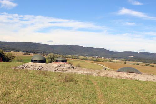 World War II Forts in Beautiful Farm Country