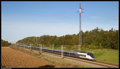 SNCF TGV 4523 @ Petit-Enghien