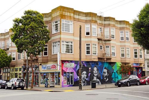 Strolling around Haight-Ashbury, San Francisco, CA