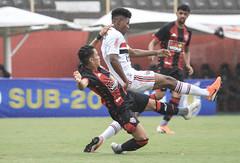 Vitória 3 x 2 São Paulo - Campeonato Brasileiro (SUB-20) - Fotos: Letícia Martins / ECVitória
