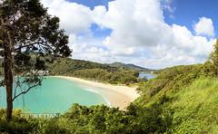 Nai Harn beach panorama. Phuket, Thailand