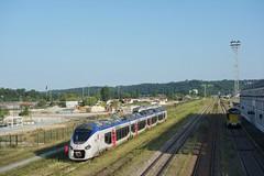Alstom Régiolis B 84655  -  Gare de Périgueux