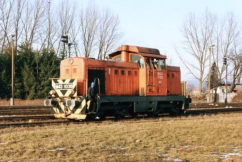 MÁV: M43 1036 in Szentgotthárd