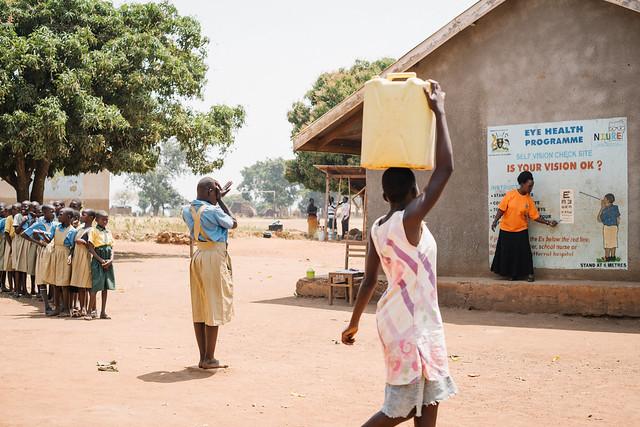 Refraction in Uganda