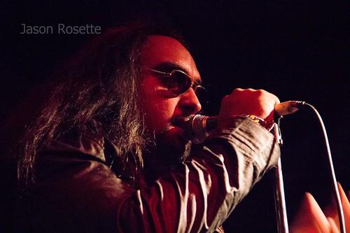 Close Up Heavy Metal Singer, Bangkok