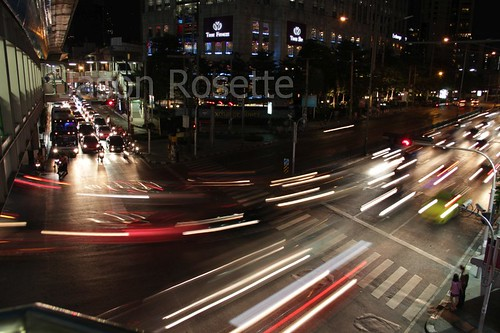 Bangkok Traffic at Night (#4)