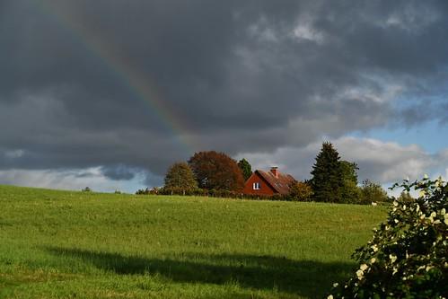 Schlechtes Wetter am Ratzeburger See