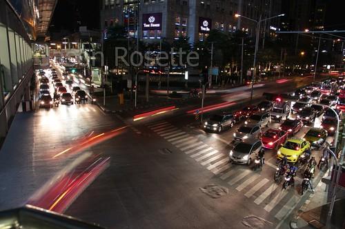 Bangkok Traffic at Night (#3)
