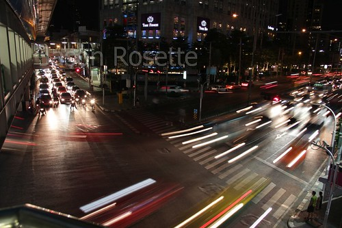 Bangkok Traffic at Night (#2)