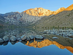 Sunrise Reflection on Convict Lake, Sierra Nevada, CA 10-19