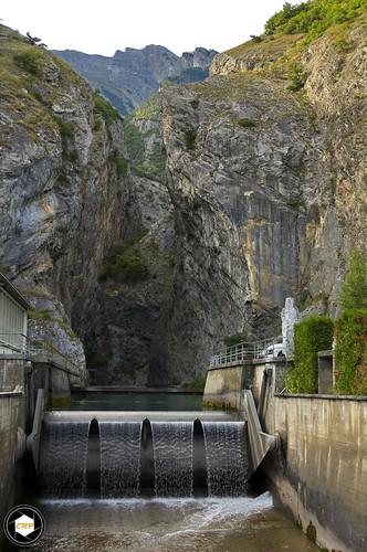 Gorges de la Liserne, Ardon, Switzerland