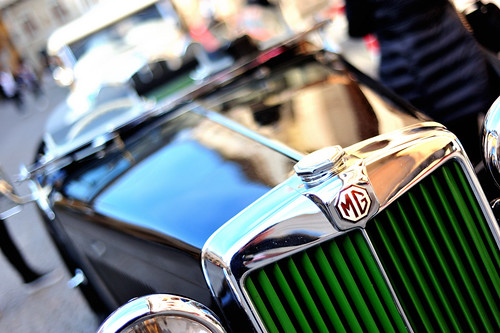 old MG