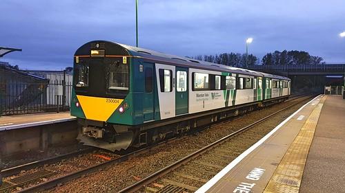 London NorthWestern Railway Vivarail 230004 at Ridgmont