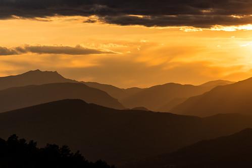 Sobrarbe sunset